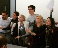 Last table read for season three of #LivAndMaddie.