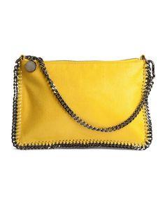 Stella McCartney- Small Chain Pouch- Yellow