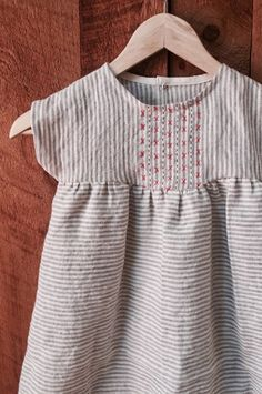 Hand Embroidered Dress | ZoeLoomisHandmade on Etsy
