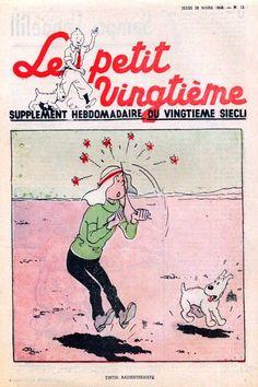 Tintin radiesthésiste - Tintin au pays de l'or noir