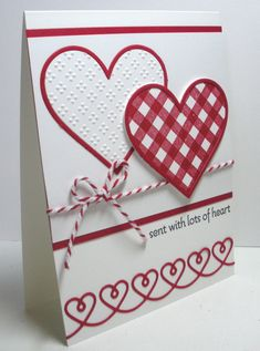 Valentines Day Cards Handmade, Valentine Wishes, Homemade Valentines, Valentine Crafts, Valentine Ideas, Heart Cards, Cards For Friends, Scrapbook Cards, Scrapbooking
