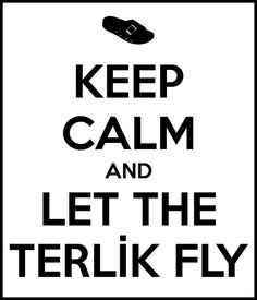 Keep Calm And Let The Terlik Fly You Really, Keep Calm, Graphic Design, Let It Be, Sayings, Logos, Funny, Graphics, Stay Calm