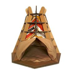 Wigwam Cardboard Cat House Cat Furniture Cat Toy Cat by CacaoPets