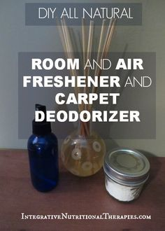 DIY All Natural Room, Air Freshener and Carpet Deodorizer - Integrative Nutritional Therapies
