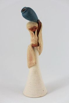 David Kalderon Israeli Woman Ceramic Figurine by StevieSputnik