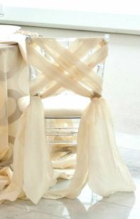 See more about wedding chairs, chair sashes and chair decorations. Wedding Chair Decorations, Wedding Chairs, Wedding Chair Covers, Wedding Chair Sashes, Wedding Reception, Wedding Venues, Chair Ties, Chair Backs, Wedding Ideias