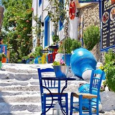 Welcome to Greece ...please have a seat ♂️ Kos island, Greece