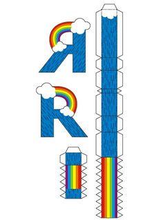 Você pode fazer um alfabeto decorado com letras com formatos de bichinhos bem simpáticos e divertidos para ensinar brincado os seus filhos a lerem ...