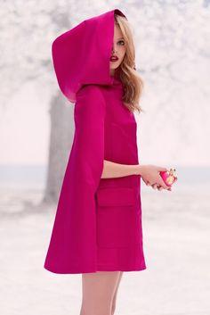 Pink Cape - La Tentation de Nina Nina Ricci perfume - a new fragrance for women 2014-DG