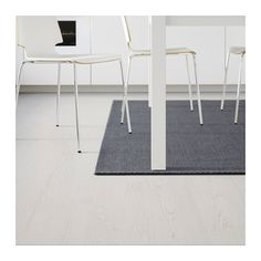 MORUM Matta, slätvävd - mörkgrå, 200x300 cm - IKEA