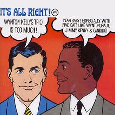 1964 Wynton Kelly Trio - It's All Right! [Verve V-8588 (US)] cover illustration: Russ Gale ; Roy Lichtenstein style #albumcover