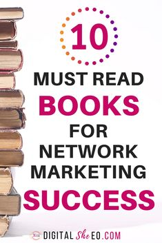 10 Best Network Marketing Books For Direct Sales and MLM Success. Learn network marketing recruiting tips, mlm prospecting strategies and sales funnels for your network marketing business. Sales And Marketing, Business Marketing, Marketing Digital, Online Marketing, Content Marketing, Media Marketing, Marketing Companies, Marketing Ideas, Marketing Mediante Afiliadas