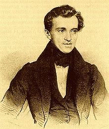 Johann Strauss  (March 14, 1804 – September 25, 1849; German: Johann Baptist Strauß, Johann Strauss (Vater); also Johann Baptist Strauss, Johann Strauss, Sr., the Elder, the Father), born in Vienna, was an Austrian Romantic composer famous for his waltzes, and for popularizing them alongside Joseph Lanner, thereby setting the foundations for his sons to carry on his musical dynasty.