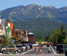 Whitefish, Montana near Glacier National Park