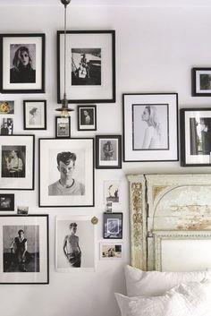 Lots of frames/ old bed headboard