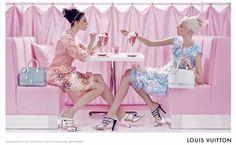Louis Vuitton kolekcja wiosna-lato 2012