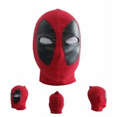 Deadpool Headwear Marvel Cosplay Mask Adult Size Halloween Party Christmas Gift *** To view further for this item, visit the image link.