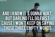 Three Empty Words - Shawn Mendes