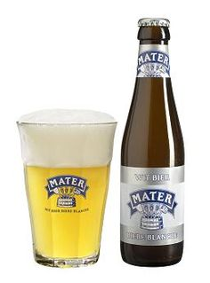 Mater Witbier (brouwerij Roman): een tarwebier met gist op fles