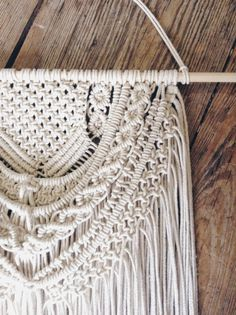 Macrame Wall Hanging Macrame Wall Decor Wedding by MaisyandAlice