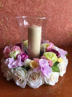 Aranjamente florale din flori de matase
