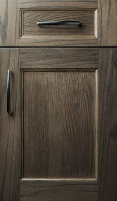 Custom cabinetry by Plain & Fancy. Handmade cabinets for any room of the house. The difference is in the details. Kitchen Cabinet Door Styles, Black Kitchen Cabinets, Grey Cabinets, Cabinet Doors, Cabinet Stain, Gray Stained Cabinets, Handmade Cabinets, Galley Kitchen Design, Kitchen Designs