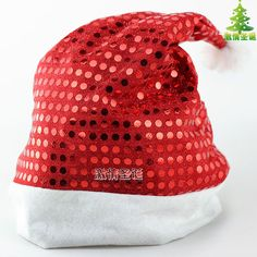 Buy Two Sequins Get One Embroidery Free Non woven Fabrics Sequins Christmas Hat Christmas Hat, Christmas Ornaments, Get One, Woven Fabric, Fabrics, Sequins, Embroidery, Hats, Handmade