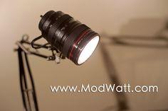 camera lens lamp - Google Search