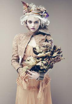 Fiasco Magazine  Photographer Nicolas Guerin  Make up Vichika   Hairstylist Mike Desir   Story creative  blonde Hair Wigs Headshot Fleur