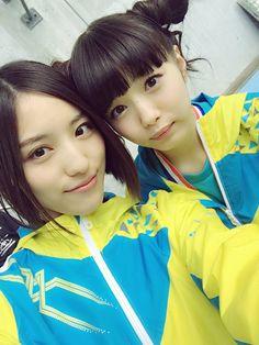 Anna Ijiri x Miori Ichikawa  https://twitter.com/ijirianna0120/status/661462306618867712
