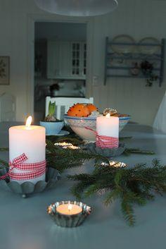 Huset ved fjorden: Jul i spisestova :)