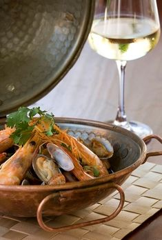 Pork from Alentejo, chicken from Loulé, passion fruit pudding from Madeira are just a sampling from the culinary journey in store at Adega Restaurant at Vila Vita Parc in the Algarve.