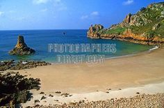 Buy or license direct from the photographer this stunning image of : Channel Islands , JERSEY , St Brelade , Beau Port Beach , Channel Islands, Image Photography, Saints, Places To Visit, Stock Photos, Beach, Water, Outdoor, Gripe Water