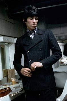 Keith Richards in the best suit ever.