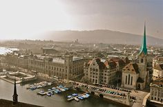 Zurich, Switzerland [Pinning places I've been to makes me feel very blessed]