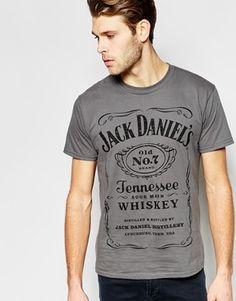 Joystick Junkies T-Shirt With Jack Daniels Print