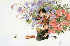 小さなともだち - アトリエウメ 日本画家 中島潔の公式ホームページ