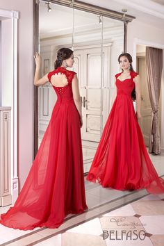 Elegant Chiffon Prom Dress,Queen Anne Neckline Full-length A-line Evening Dresses,Evening Dresses, Floor-length Evening Dresses,Side Slit Prom Dresses Evening Dress 2015, Chiffon Evening Dresses, Ball Dresses, Evening Gowns, Prom Dresses, Sexy Dresses, Formal Dresses, Bride Dresses, Evening Party