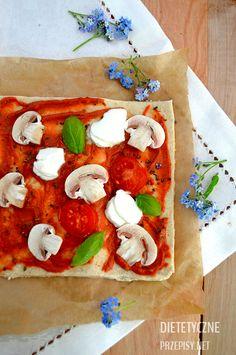 zdrowa pizza wegetariańska 2