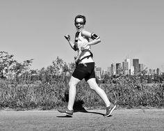 MEC Toronto Half Marathon 5K 10K 2014  #Toronto #runTO #blackandwhite