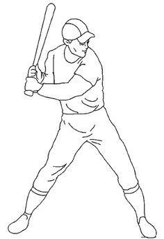 image-19205 coloriage de Baseball