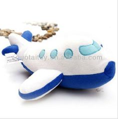 Cute soft plush& stuffed airplane toys for kids