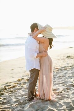 beach engagement photos ideas - Google Search