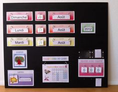 Calendrier chdecole OK School Organisation, Classroom Organization, Classroom Management, French Teacher, Teaching French, Classroom Setup, School Classroom, Teacher Hacks, Best Teacher