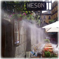 Linea de difusores del sistema de nebulizaci n masterkool for Restaurante terraza de la 96 barranquilla