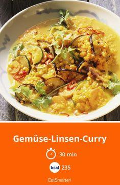Gemüse-Linsen-Curry - smarter - Kalorien: 235 kcal - Zeit: 30 Min.   eatsmarter.de