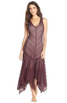 Free People 'Lila' Mesh Maxi Slipdress at Nordstrom.com.