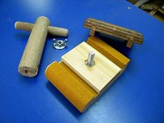 Sanding Block & Wing Nuts Key - by steliart @ LumberJocks.com ~ woodworking community