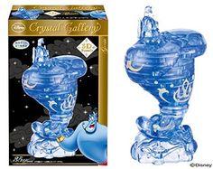 F/S New Hanayama Crystal Gallery 3D Puzzle Aladdin the Genie Disney 35pcs JaPaN #Hanayama