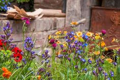 Bli inspirert av små hager på Chelsea Flower Show : Bygg.no - Byggeindustrien Flower Shower, Chelsea Flower Show, Garden Landscaping, Garden Design, Colours, Allotment, Flowers, Plants, Romantic